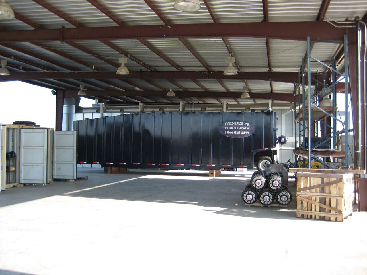 Custom tanks and trailers are available at DenBeste Manufacturing.