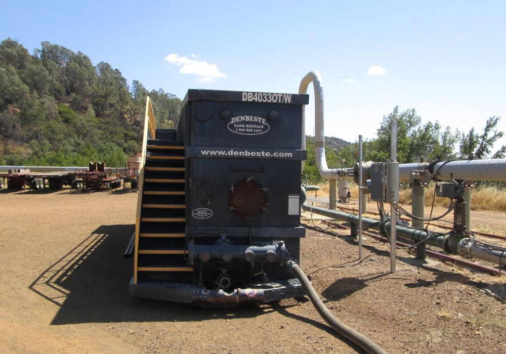 DenBeste supports renewable energy project at geysers.