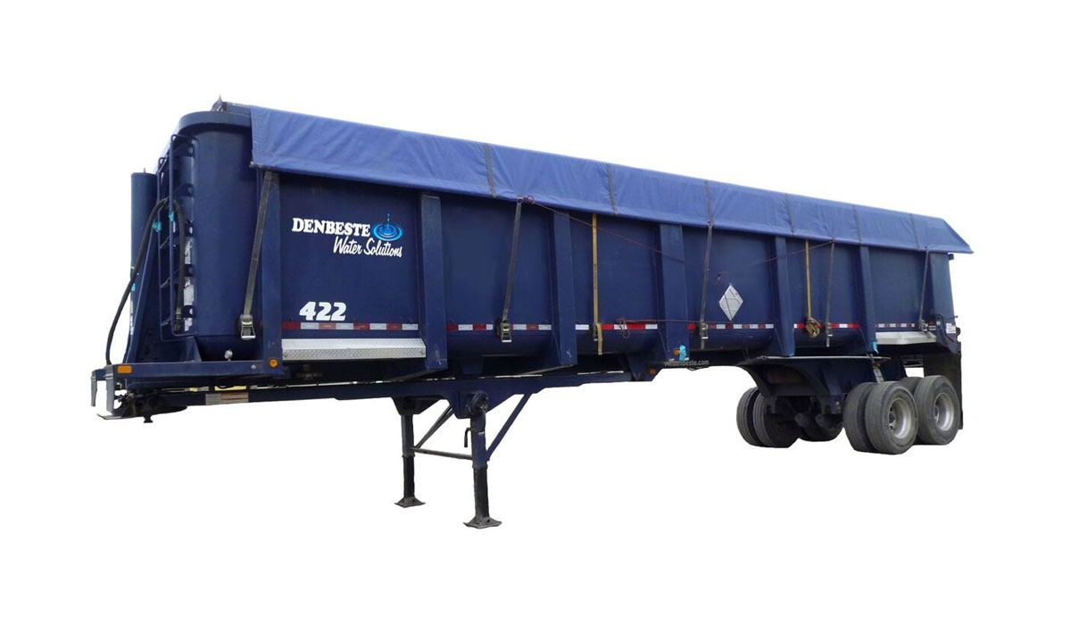 Rent high side trailers from DenBeste environmental equipment.