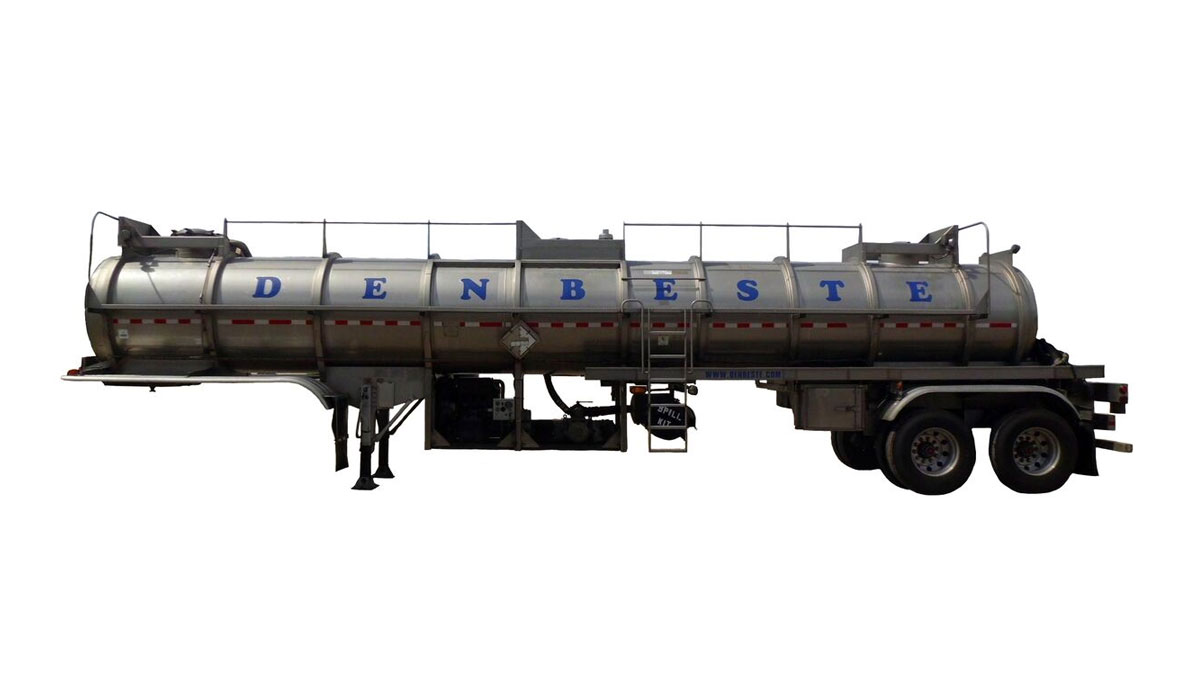 Rent stainless steel vac trailers from DenBeste environmental equipment.
