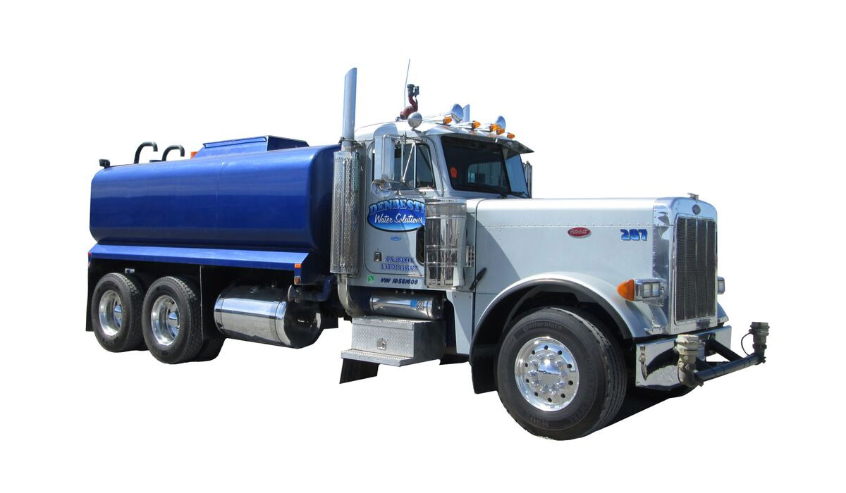 Rent water trucks from DenBeste environmental rental equipment.